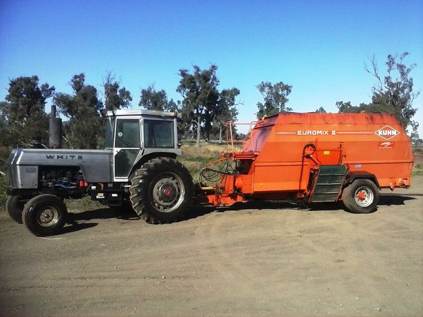 Kuhn Euromix EU11, 2-150 White Tractor for sale QLD Kingsthorpe