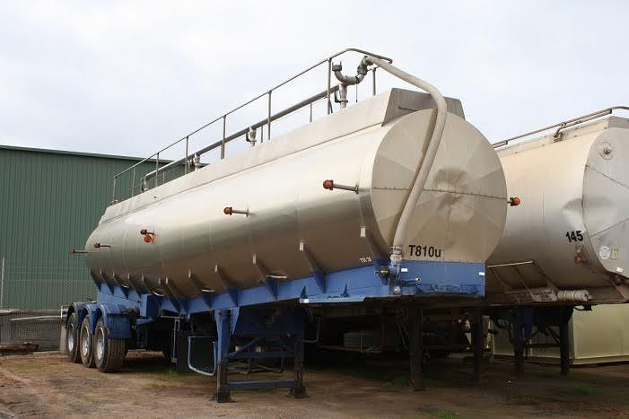 1983 Tieman Industries Stainless Tanker Trailer for sale WA