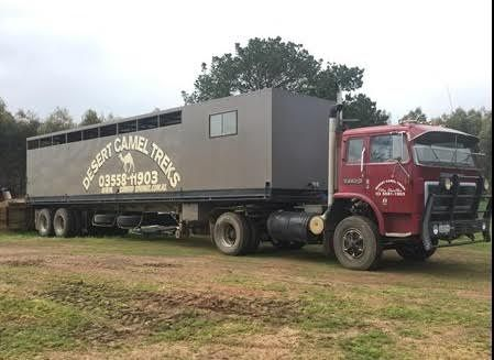 International 2670 Truck 12 Horse Trailer for sale Vic