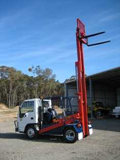 Truck for sale VIC Mobile Forklift and Isuzu Truck