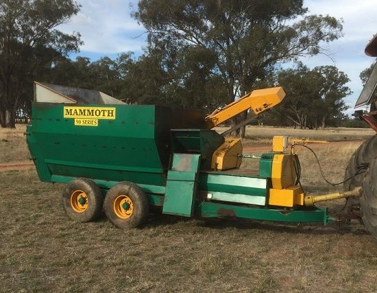 Mill & Mix feed mixer farm machinery for sale West Wyalong NSW
