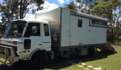 Nissan 4 Horse Truck with Living Horse Transport for sale NSW Nowra