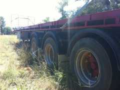 1986 40Ft Ophee Flat Top Tri-Axle Trailer for sale NSW