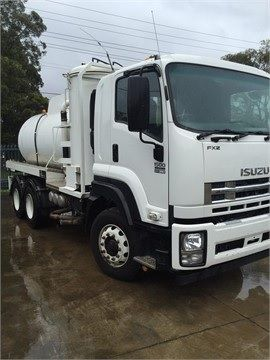 Isuzu FXZ1500 6 x 4 Rigid Vac Pump truck for sale NSW