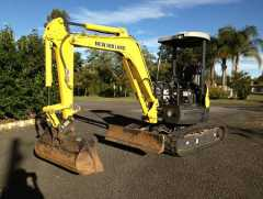 New Holland E30B Excavator Earthmoving Equipment for sale QLD