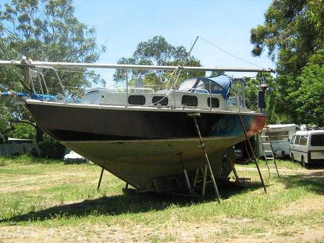 30 Ft Ocean Cruiser Yacht - Boats & Marine for sale Qld