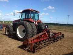Tractors for sale QLD G240 New Holland Tractor & Lely Roterra power Harrows
