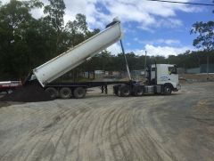Road West Custom Made Tri-Axle Steel Chassis Tipper Trailer for sale QLD