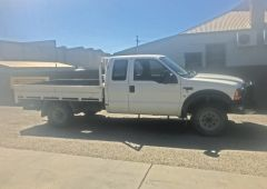 F250 4WD Tray Ute for sale Vic Cobram
