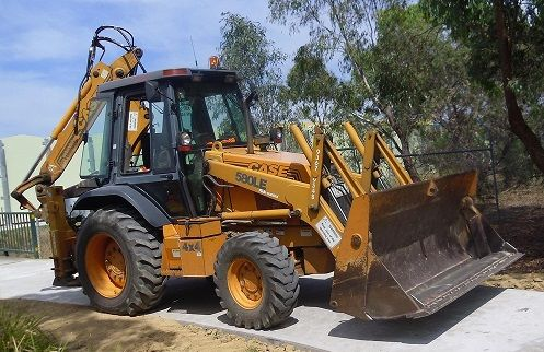 Case 580LE Backhoe and Loader Earthmoving Equipment for sale VIC