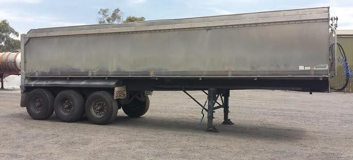 1987 Muscat Tip Over Triaxle Trailer for sale NSW