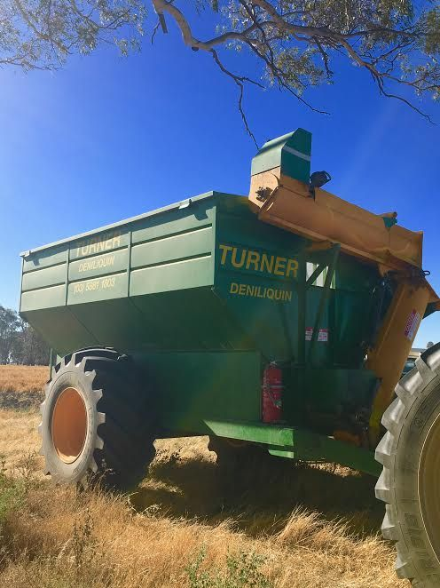 18 Tonne Turner 2011 Chaser Bin Farm Machinery for sale NSW