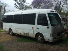2007 TOYOTA COASTER LWB MOTOR HOME FOR SALE QLD MURGON