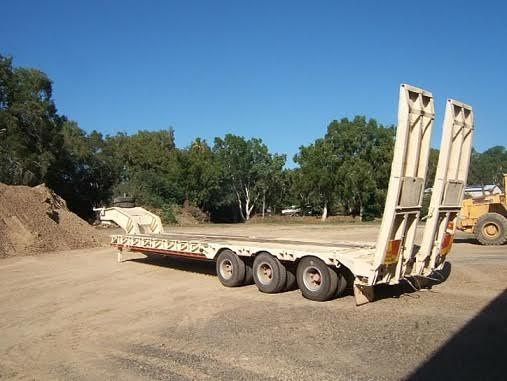 Lusty Allison Low Loader Trailer for sale QLD