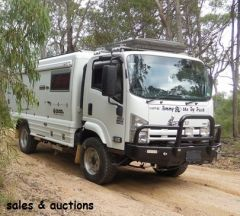 Global Warrior, 0n-road/off-road Motor Home for sale Qld Landsborough