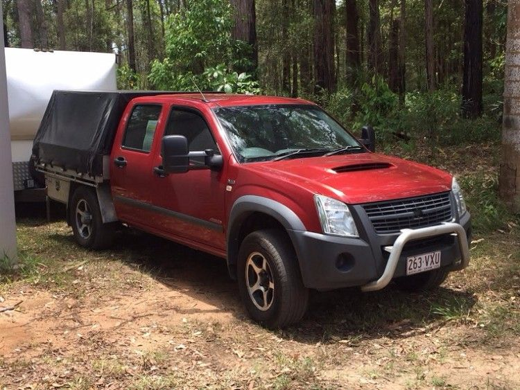 2007 V8 Holden Rodeo manual Ute for sale QLD