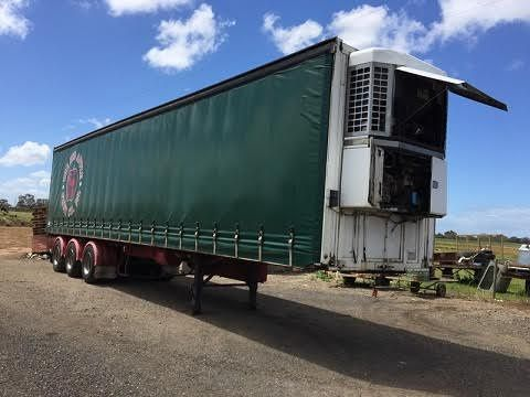 Maxi-Cube S Van 3 Axle Refrigerated Trailer for sale Vic