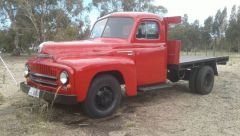 Vintage 1952 International Tray Truck for sale Tas Swansea