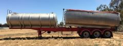 2005 Byford Tipper/Tanker Ophal Trailer for sale NSW Deniliquin