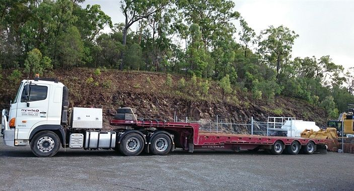 48ft Tri-Axle Drop-Deck Trailer & Hino 700 Series Prime Mover for sale QLD
