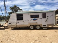 Landcruiser & 22ft Walkabout Caravan for sale Vic Warracknabeal