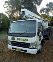 2007 Mitsubishi Canter with cherry picker Truck for sale Belrose NSW