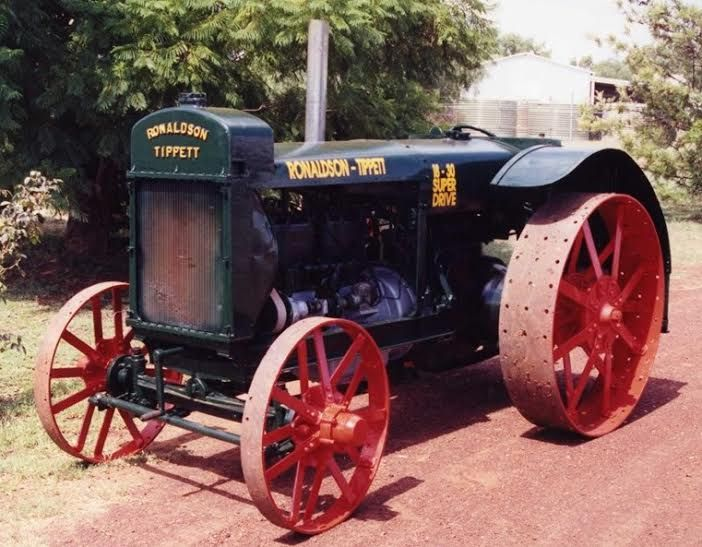 1926 Ronaldson Tippett 18.30 Super Drive Vintage Tractor for sale QLD