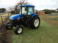 2003 New Holland TD85D and Massey Ferguson 168 Tractor for sale NSW Mudgee
