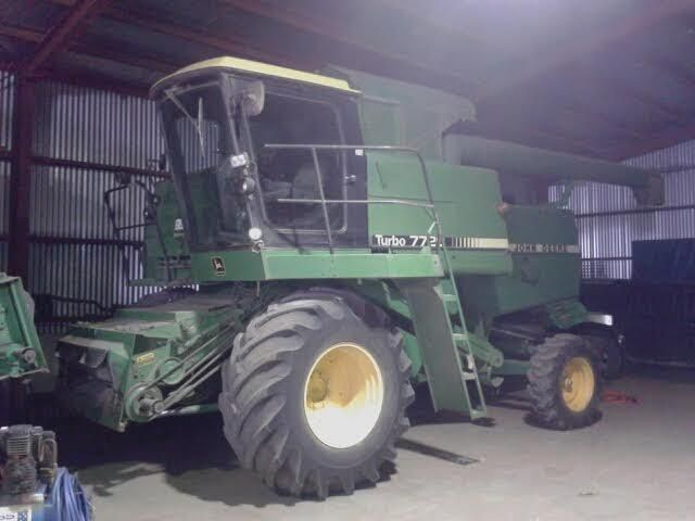 John Deere 7720 Header Farm Machinery for sale Vic
