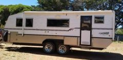 2010 22FT Bushtracker Caravan for sale Vic Balmoral