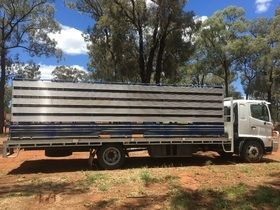 2007 GD Hino Truck & Stock Crate for sale Benolong NSW