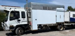 Isuzu FRR550+ TD with 4 Horse Box