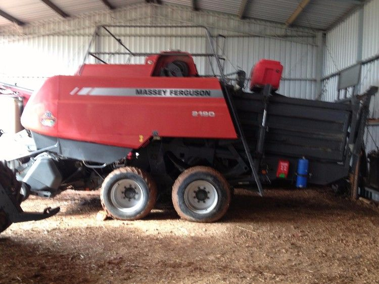 2008 4 x 4 2190 Hay Baler Farm Machinery for sale WA