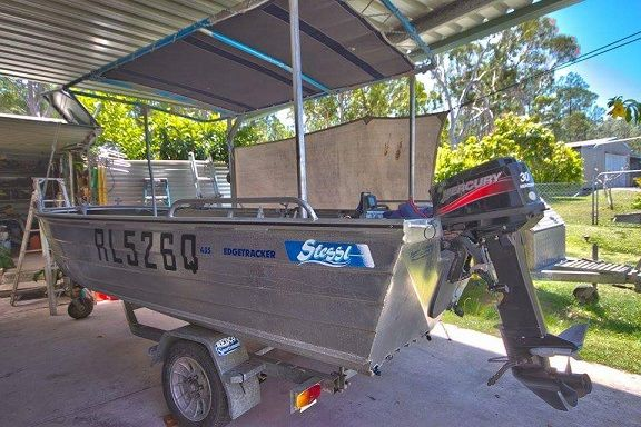 Edgetracker 4.5m Boat for sale cooloola Cove Qld