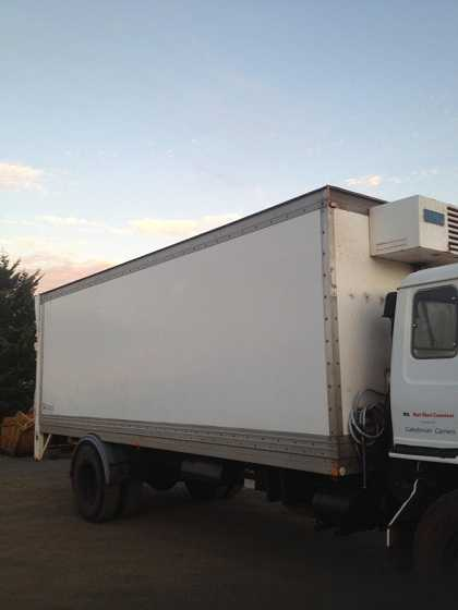 Trailer for sale Refrigerated Truck Body NSW