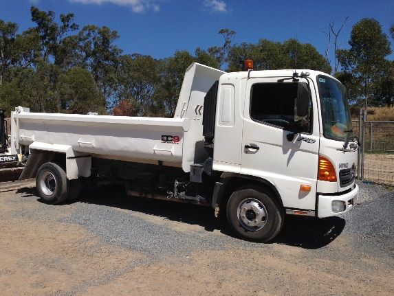 Hino FD Tipper Truck for sale QLD Gold Coast