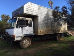 Mitsubishi 6 Horse Truck Transport for sale WA