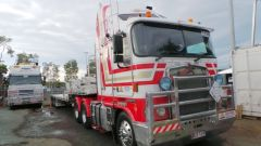 Kenworth K Series Prime Mover Truck & 45 Foot Drop Deck Trailer sales QLD