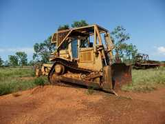 Caterpillar D7H Dozer Earthmoving Equipment for sale NT hayes Creek