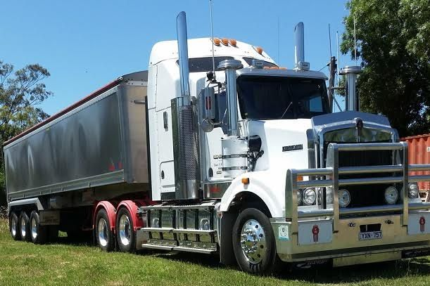2009 Kenworth T408 Truck & Tipper Trailer for sale in Vic