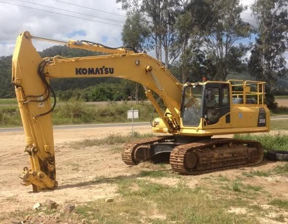 35 Ton Komatsu Short Track PC350-8 Excavator for sale QLD