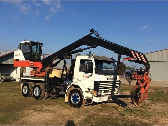 Prentice Log Loader Scania P113M Truck for sale Vic