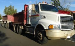 RMJ Trailer, Ford HN80 Tipper Truck for sale VIC Taylors Lakes