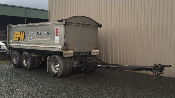 Hamelex 3 Axle Dog Trailer for sale Vic Warragul