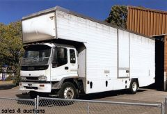 2000 isuzu FVR90 furniture Removal Pantech Truck for sale NSW Winton Hill