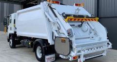 Ex Demo 2019 Isuzu compactor truck for sale Melbourne Vic