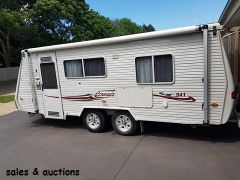 2007 30th Anniversary Coromal Corvair 541 Pop Top Caravan for sale Vic Warragul