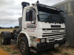 1986 Scania Single Drive 92m Prime Mover Truck for sale SA