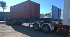 Lusty Ems 40ft Tri Axle Flat Top Trailer for sale QLD Oxley