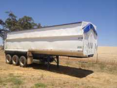 30ft Shepherd Chassis Tipper Trailer for sale NSW Temora
